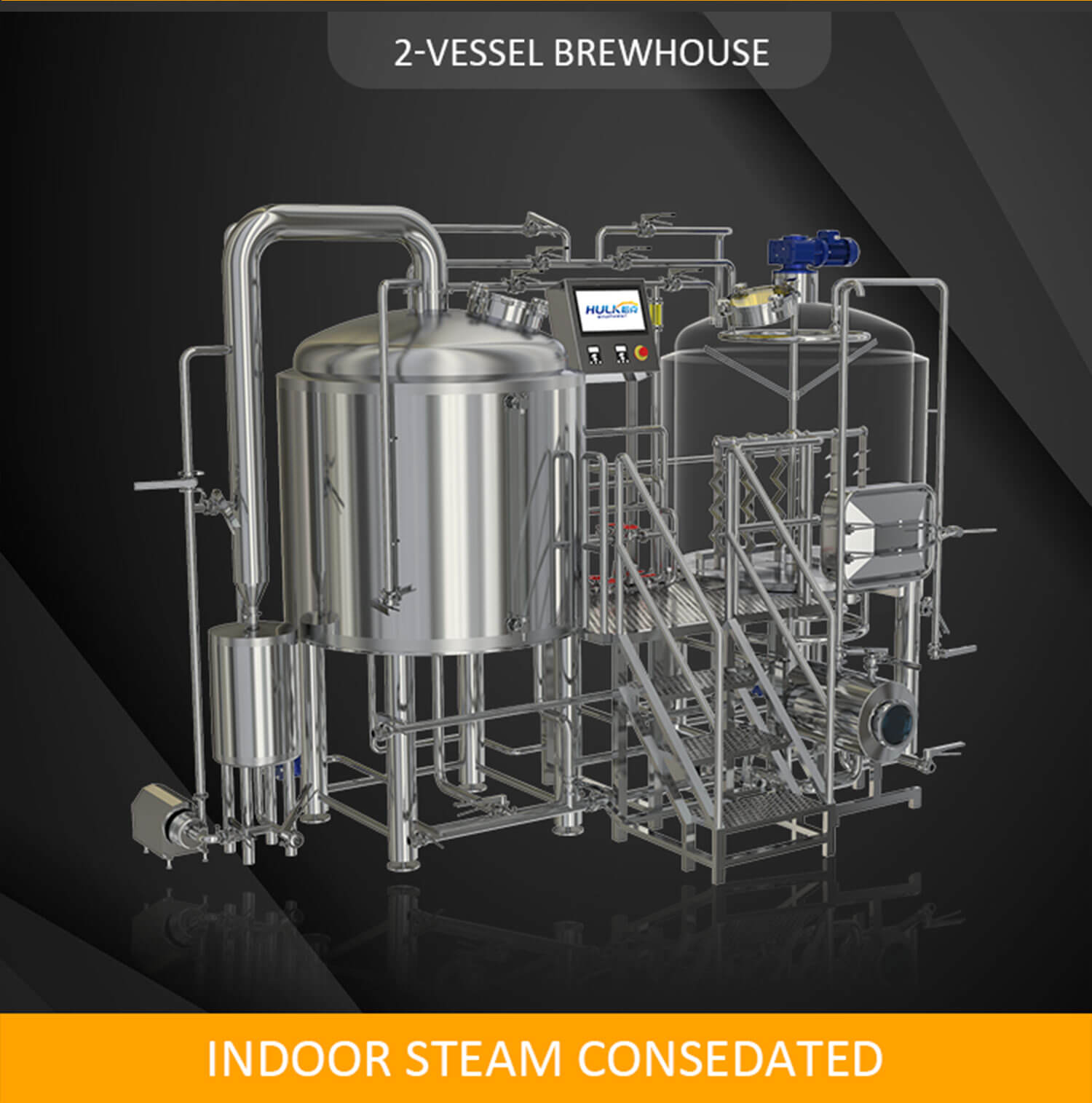 HULK BEER BREWHOUSE 2 VESSEL 3 VESSEL BREWHOUSE
