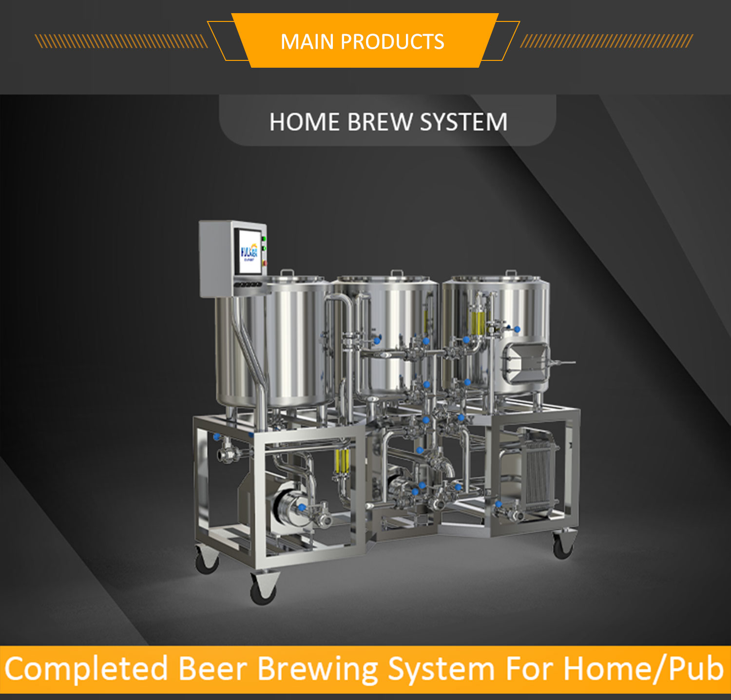 HULK BEER BREWHOUSE 2 VESSEL BREWHOUSE